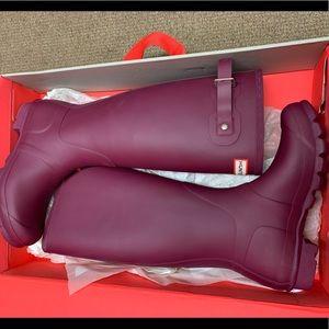 🆕 Hunter Original Tall Boots Violet